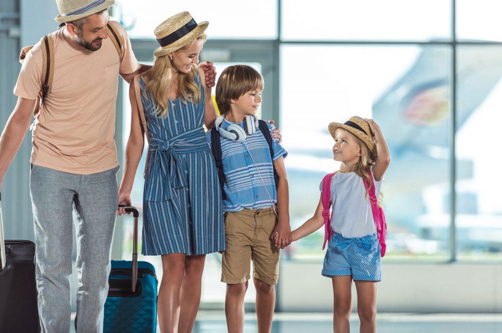 Prepare a sus hijos para viajar
