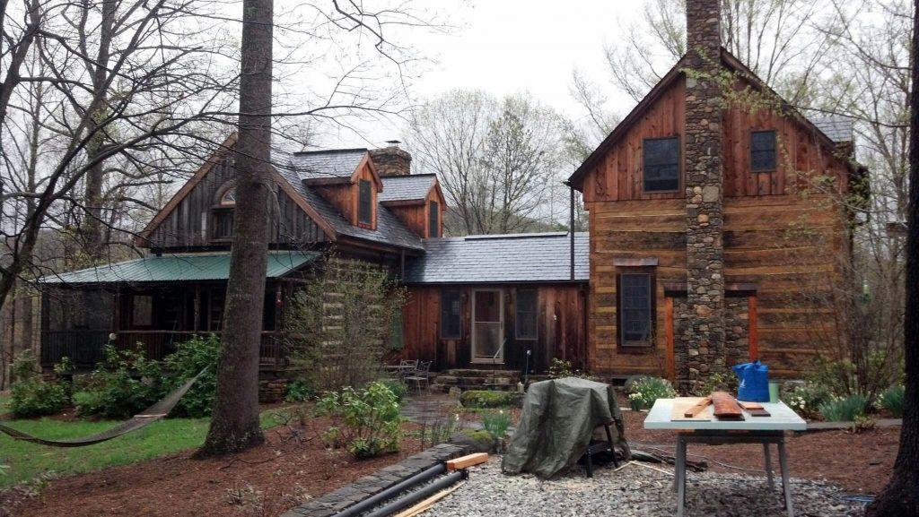 Restaurar casas de troncos